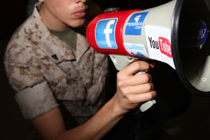 How The U.S. Military Uses Social Media