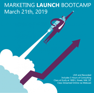 Marketing Launch Bootcamp - Catoctin College - March 21, 2019